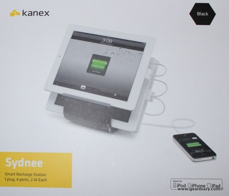 Kanex Sydnee Smart Recharge Station for iPad Review