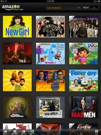 Amazon Instant Video Comes to the iPad!