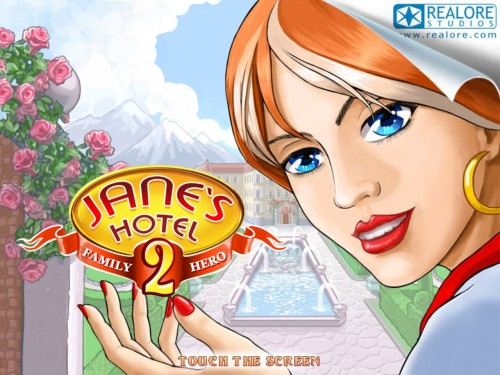 Jane's Hotel 2 Family Hero HD for iPad Review
