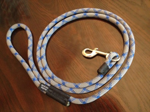 Krebs Recycle Climbing Rope Dog Leash Review