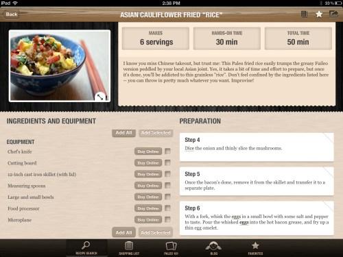 Nom Nom Paleo Recipe App Review
