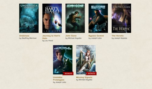 """GearDiary Storybundle Brings Indie eBooks, Readers, and """"Pay What You Want"""" Bundles Together"""