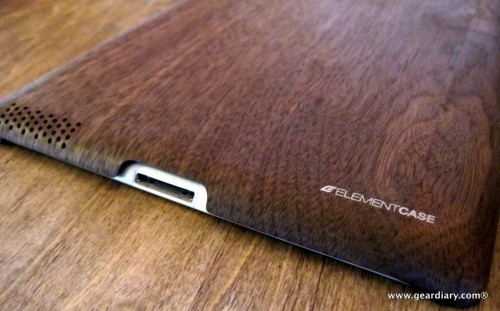 Element Case Walnut Wood iPad Shell Review