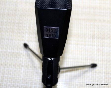 MXL TRIO USB Condenser Microphone Review  MXL TRIO USB Condenser Microphone Review