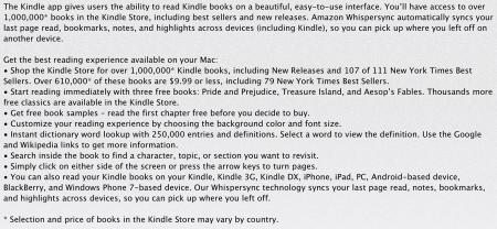 Where Amazon and Apple Part Ways...  Where Amazon and Apple Part Ways...