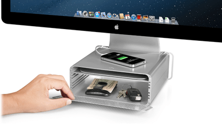 GearDiary Give Your iMac or Thunderbolt Display a Lift with TwelveSouth's HiRise