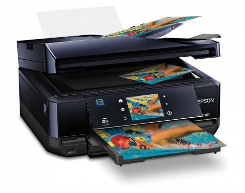 Epson's Expression® Photo XP-850 Small-in-One™ Printer Introduced Today
