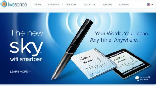 Livescribe Introduces the Sky WiFi SmartPen