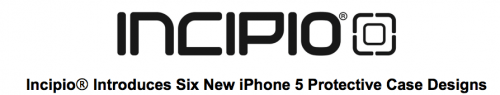 Incipio Rolls Out Six New iPhone 5 Protective Case Designs