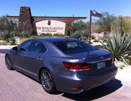 Admiral for a Day as we Test the Flagship 2013 Lexus LS Lineup