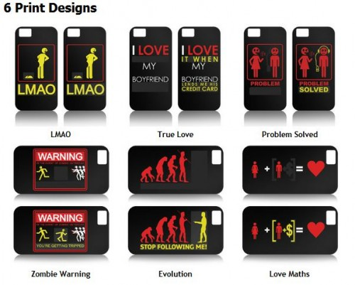 Use Protection with Heat Sensitive Rub & Reveal...Now for iPhone 5