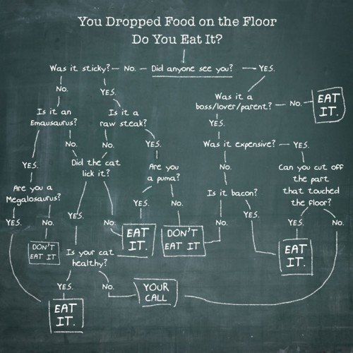 You Dropped Your Food on the Floor. Do You Eat It?