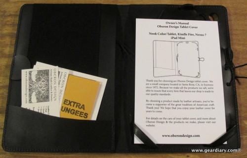Oberon Design iPad mini Cover Review