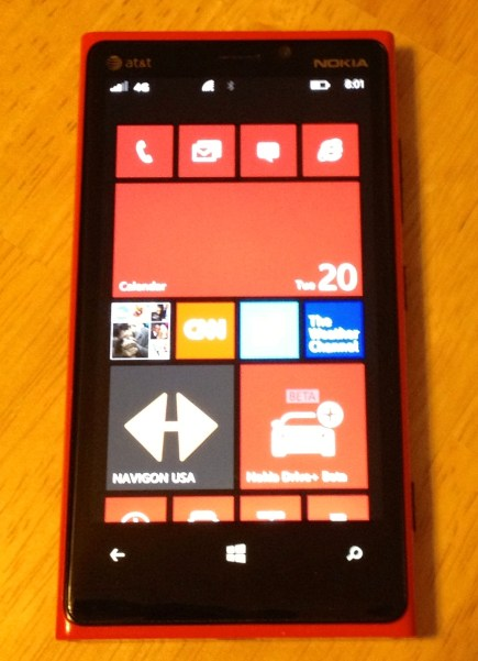 Living with the Nokia Lumia 920 - The Good, the Bad, the Ugly