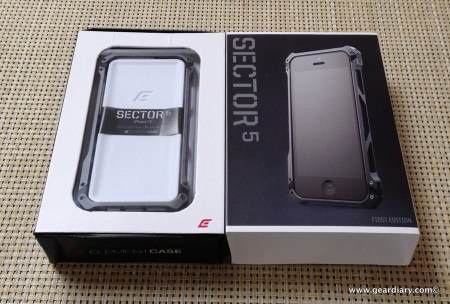 Element Case Sector 5 Case for iPhone 5 Review  Element Case Sector 5 Case for iPhone 5 Review