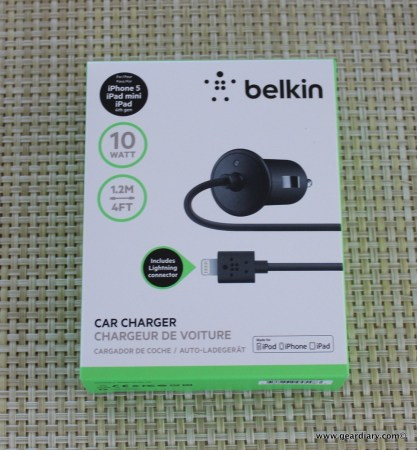 Belkin Car Charger with Lightning Connector for iPhone 5 Review  Belkin Car Charger with Lightning Connector for iPhone 5 Review