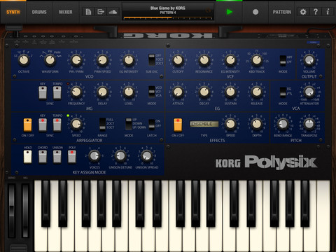 Korg iPolysix Review - Bringing Classic Analog Synth to iPad  Korg iPolysix Review - Bringing Classic Analog Synth to iPad