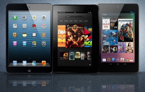Nexus 7 and Kindle Fire HD Sales Surge, Bucking Trends and Challenging the iPad Mini
