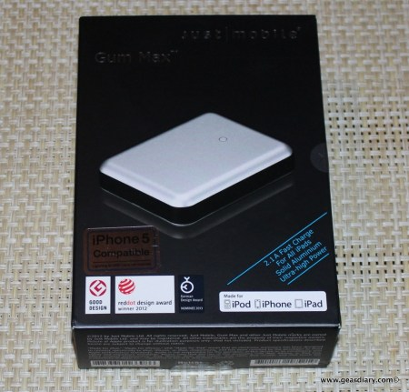 Gear Diary Just Mobile Gum Battery 001