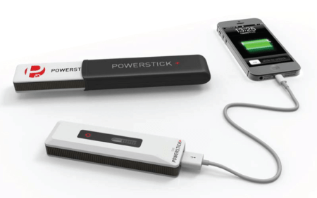 PowerStick+ Backup Battery with 4GB of storage and Gear Diary Branding Review