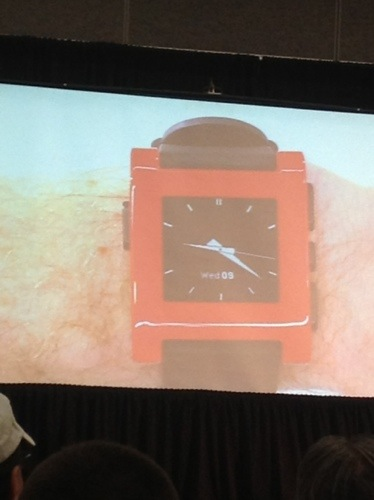 The Pebble Watch Press Conference