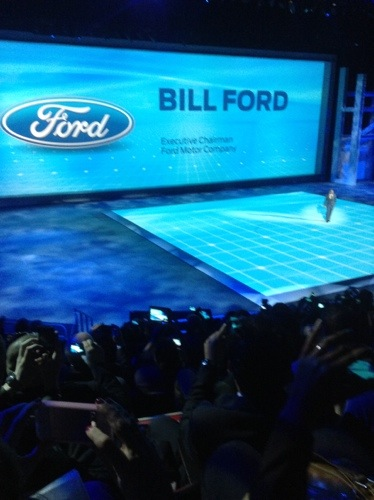 Ford's Press Conference During the North American International Auto Show  Ford's Press Conference During the North American International Auto Show  Ford's Press Conference During the North American International Auto Show