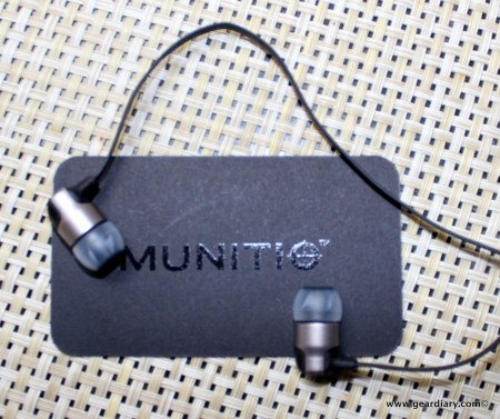 GearDiary Munitio SV Mobile Performance Earphones Review