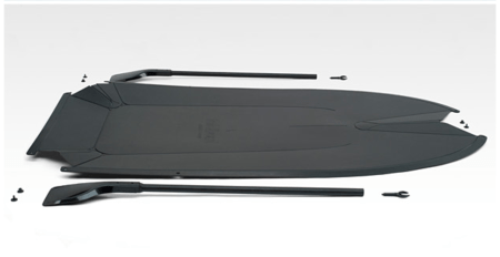 "Foldboat is a ""Seamless Folding, Leisure Boat"""