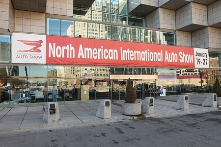 NAIAS Gallery, Day One