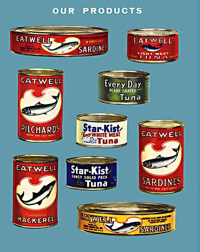 Canned Fish Vintage