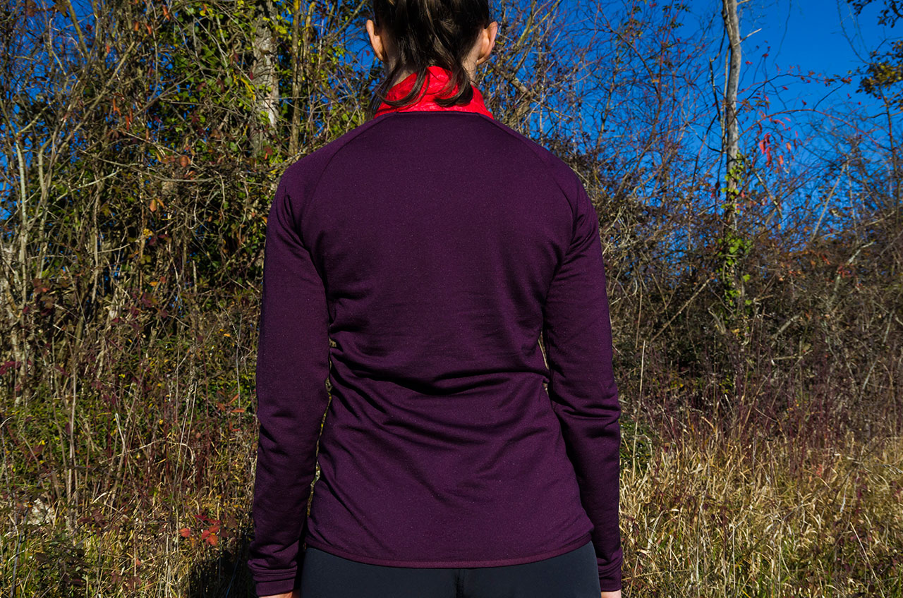 Smartwool Corbet review: Back