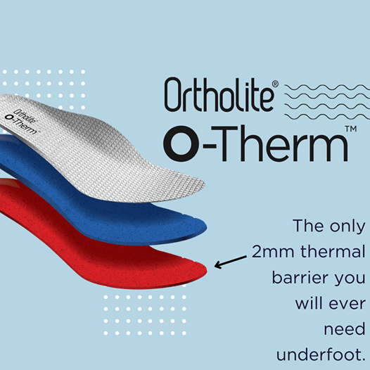 O-Therm™: Aerogel Thermal Insole Technology.