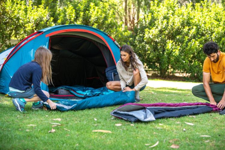 New Forclaz and Quechua Range for Camping
