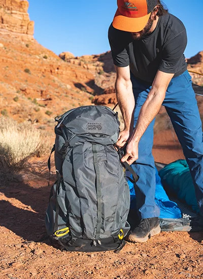 Mountain Hardwear PCT™ Pack with New Hoverbelt Technology