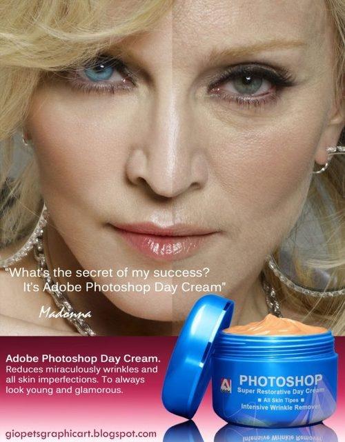 photoshop cream