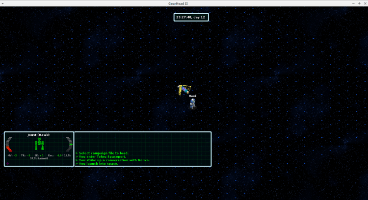 Space is endless, but the interface still thinks it's 800x600.