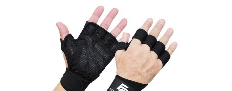 weightlifting gloves with wrist support New Ventilated Weightlifting Gloves