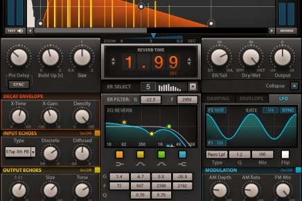 Waves Audio Now Shipping the H-Reverb Plug-in