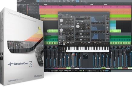 PreSonus Introduces Studio One 3