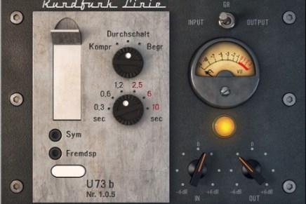 Audified announces U73b broadcast compressor – limiter plug-in