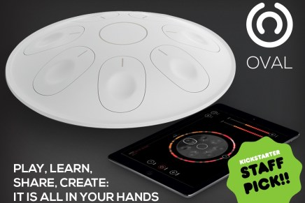 New Oval Digital HandPan Kickstarter Project Funded in just 2 Days!