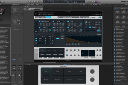 Apple releases v10.2 of Logic Pro X with Alchemy Synthesizer
