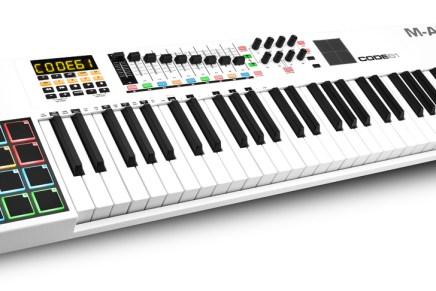 M-Audio now shipping Code Series keyboards