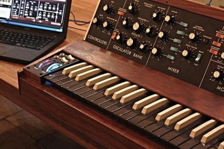 Minimoog Replica Controller by Paul McGeechan