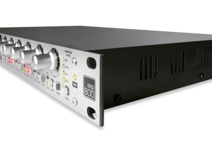 Audient announces ASP800 microphone pre-amp worldwide shipping
