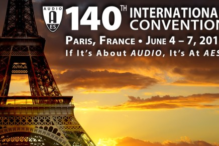 Audio Engineering Society Announces Location for 140th International AES Convention