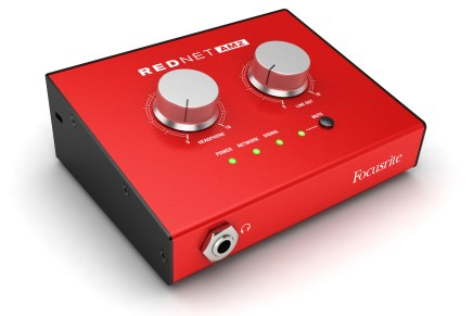 Focusrite Launches RedNet AM2 Stereo Audio Monitoring Unit
