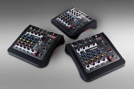 Allen & Heath launches new ZED mini mixers