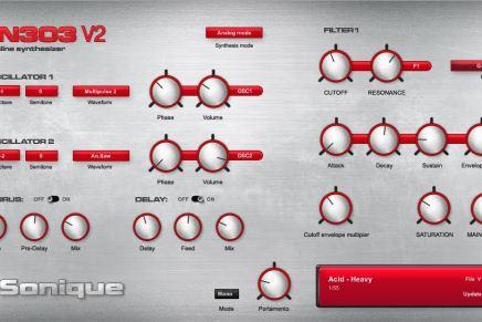 G-Sonique releases ALIEN303 V2
