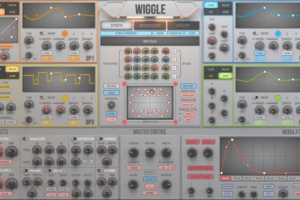 2nd Sense Audio announces WIGGLE Waveshaping Synthesizer Plugin for Mac and PC